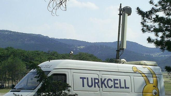 Фургон Turkcell