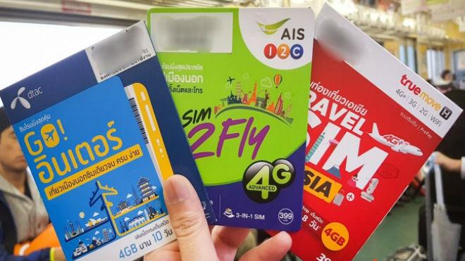 Sim-карты тайских операторов
