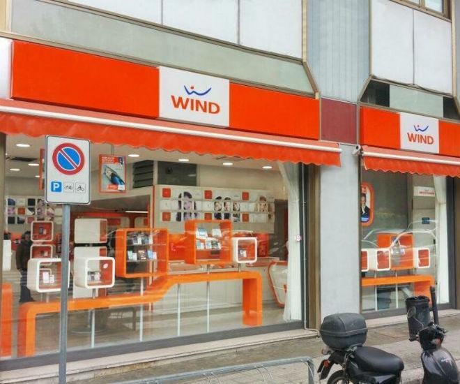 Салон связи оператора Wind