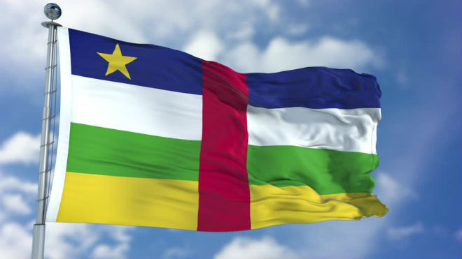 Флаг ЦАР