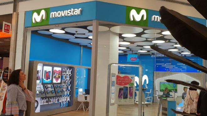Центр обслуживания оператора Movistar