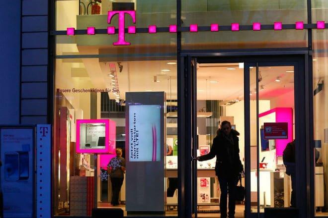 Офис T-Mobile в немецком городе