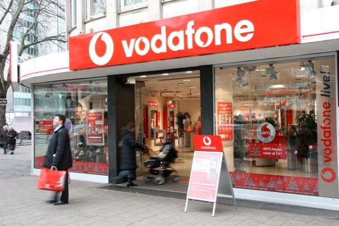 Офис обслуживания оператора Vodafone